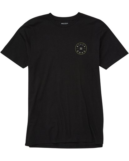 0 Rotor Tee Black M401QBRO Billabong