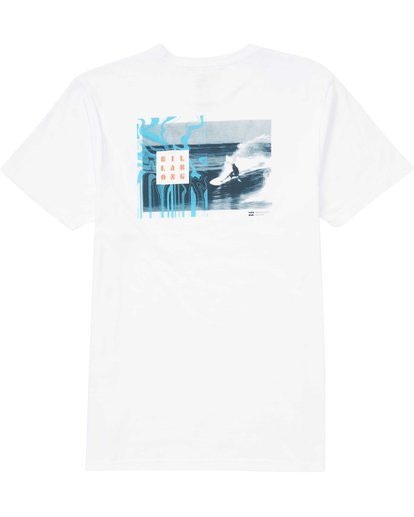 1 Warped Tee White M401QBWP Billabong
