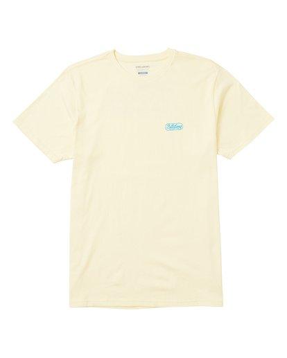0 El Club Tee Shirt Yellow M401SBEL Billabong