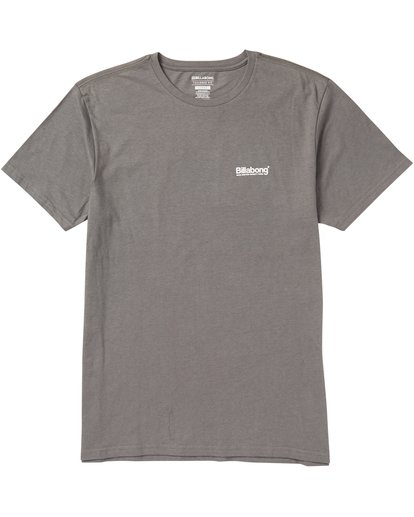 0 Pacific Tee Shirt Grey M401SBPA Billabong