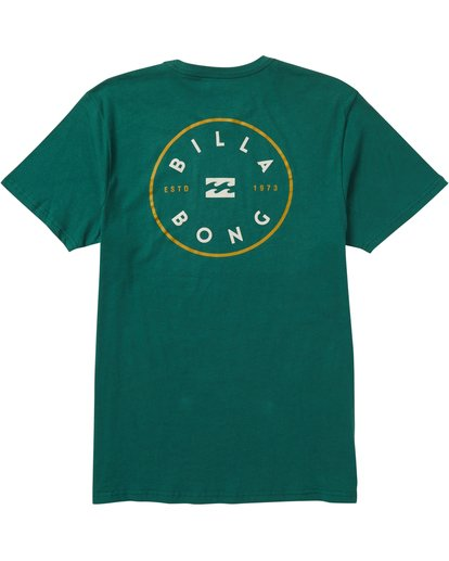 1 Rotor Tee Shirt Green M401SBRO Billabong