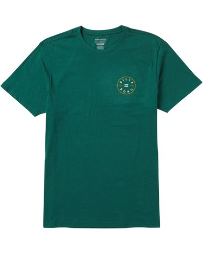 0 Rotor Tee Shirt Green M401SBRO Billabong