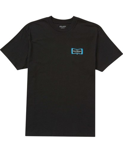 0 Pulse Tee Black M404QBPL Billabong