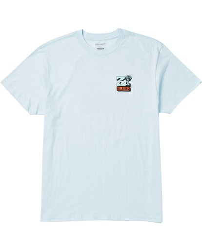0 Bbtv Tee Shirt Blue M404SBBB Billabong