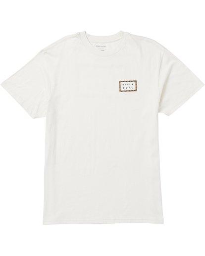 0 Die Cut Border Tee Shirt Brown M404SBDB Billabong