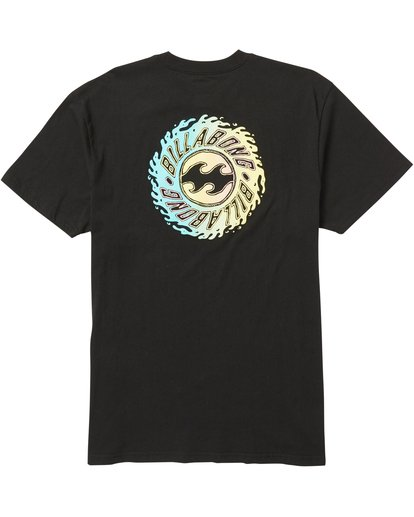 1 Ooze Tee Shirt Black M404SBOO Billabong