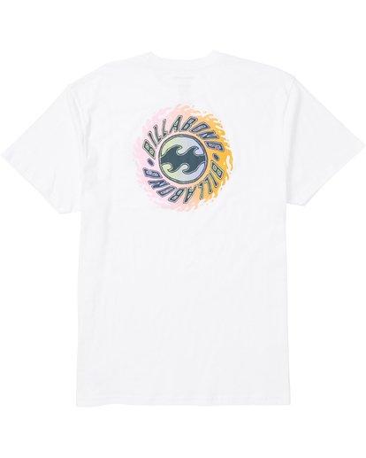 1 Ooze Tee Shirt White M404SBOO Billabong