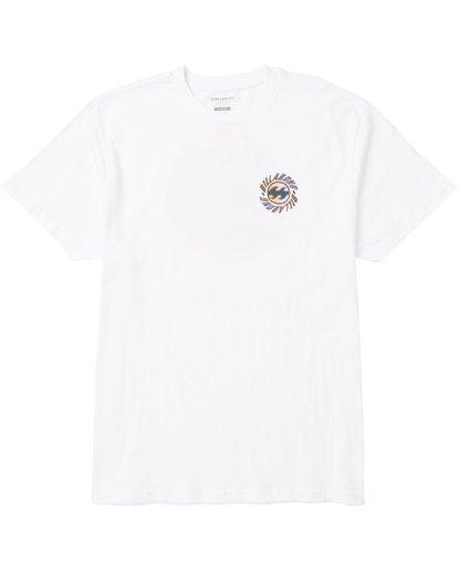 0 Ooze Tee Shirt White M404SBOO Billabong