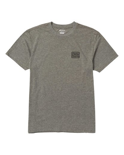 0 Overland Tee Shirt Grey M404SBOV Billabong
