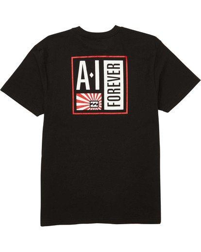 1 AI Stamp Tee Black M404TBAI Billabong