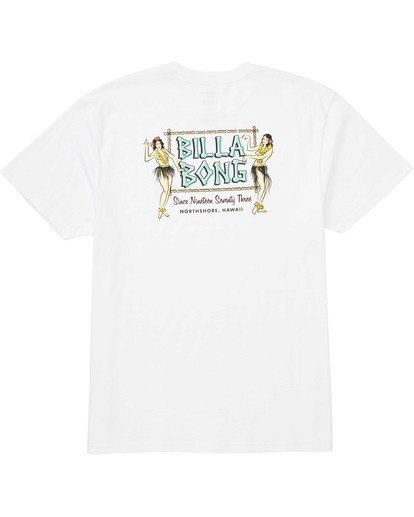 1 Bamboo Tee White M404TBBA Billabong