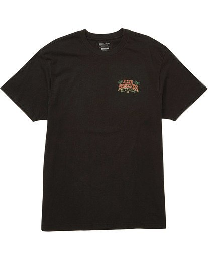 0 Banzai Short Sleeve Tee Black M404TBBZ Billabong