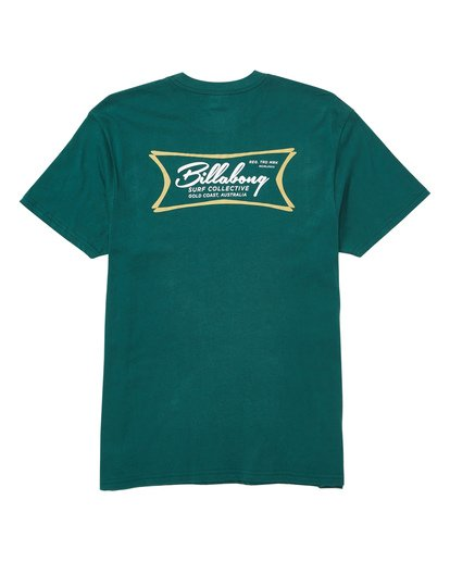 1 Isotopes Tee Green M404TBIS Billabong