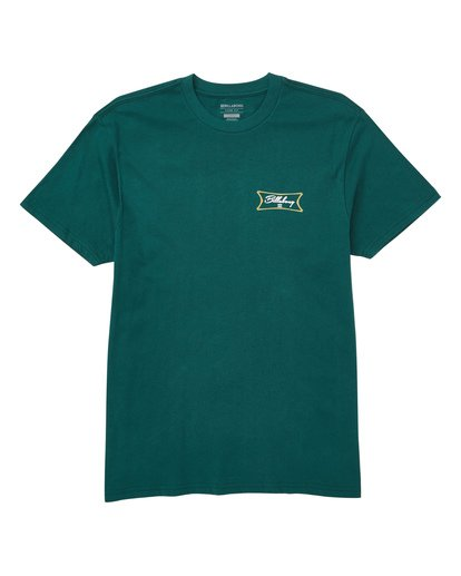 0 Isotopes Tee Green M404TBIS Billabong