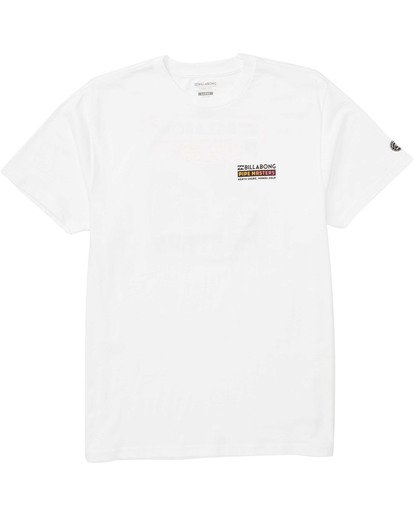 0 Pipemasters Tee White M404TBPM Billabong