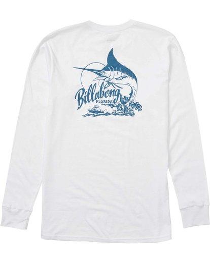 1 Ole Blue Florida Long Sleeve Tee  M405LOFL Billabong