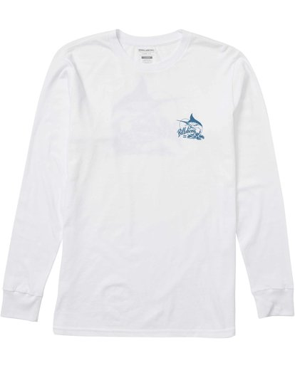 0 Ole Blue Florida Long Sleeve Tee  M405LOFL Billabong