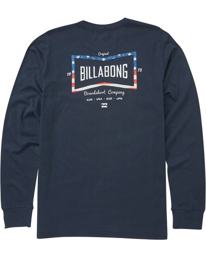 1 Craftsman Long Sleeve Tee  M405PBCM Billabong