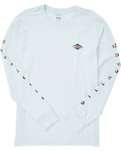1 Heritage Long Sleeve Tee Blue M405QBHE Billabong