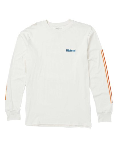 0 Pacific Long Sleeve Graphic Tee Shirt Brown M405SBPA Billabong