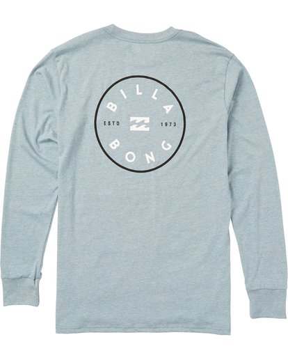 1 Rotor Long Sleeve Graphic Tee Shirt Blue M405SBRO Billabong