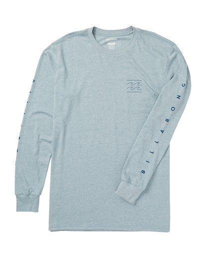 1 Unity Sleeves Long Sleeve Graphic Tee Shirt Blue M405SBUS Billabong
