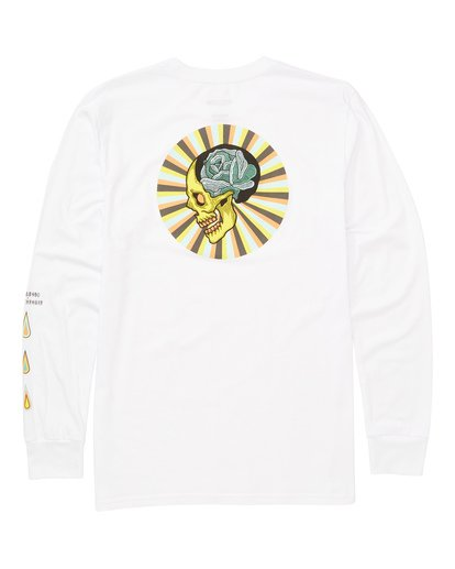 1 Bloom Long Sleeve Tee White M405TBBL Billabong