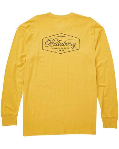 1 Trademark Long Sleeve Tee  M405TBTM Billabong