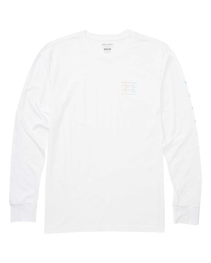 0 Unity Sleeves Long Sleeve Tee White M405TBUS Billabong