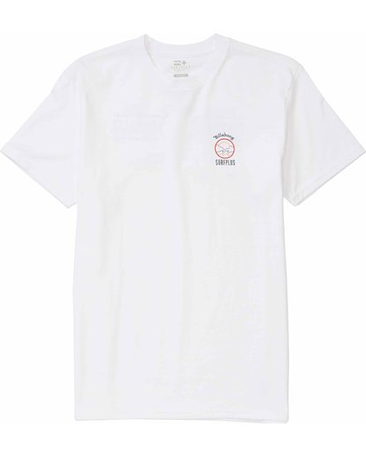 0 Rover Tee White M406MROV Billabong