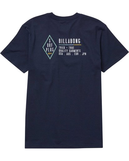 1 Force Field Tee Blue M406NBFO Billabong