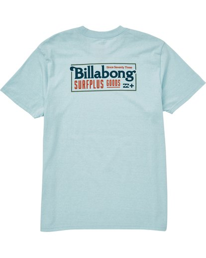 1 Bullard Tee Blue M406QBBU Billabong