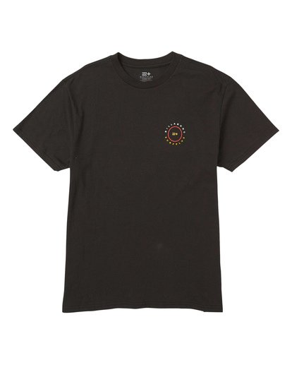 0 Reflect Eco-Friendly Graphic Tee Shirt Black M406SBRE Billabong