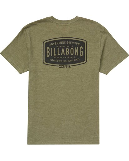 1 Lock Tee Green M414QBLO Billabong