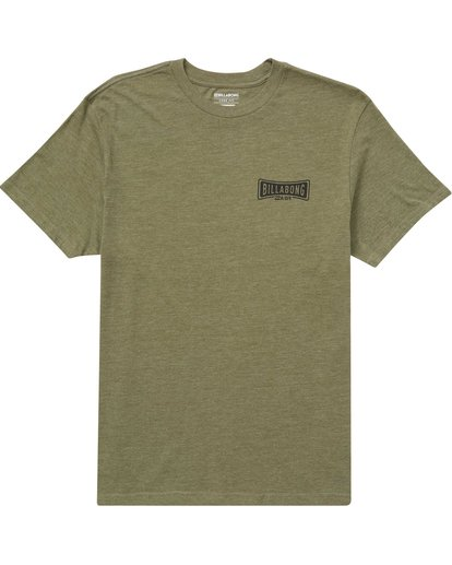 0 Lock Tee Green M414QBLO Billabong