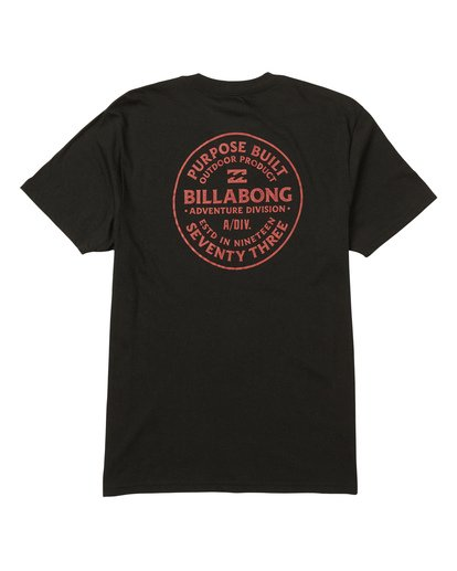 1 Emblem Performance Tee Black M414SBEM Billabong