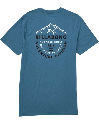 1 Mountaineer Tee Blue M414TBMO Billabong