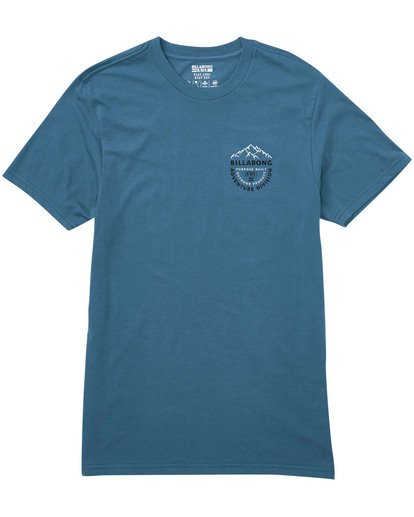 0 Mountaineer Tee Blue M414TBMO Billabong