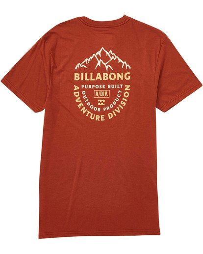 1 Mountaineer Tee Green M414TBMO Billabong