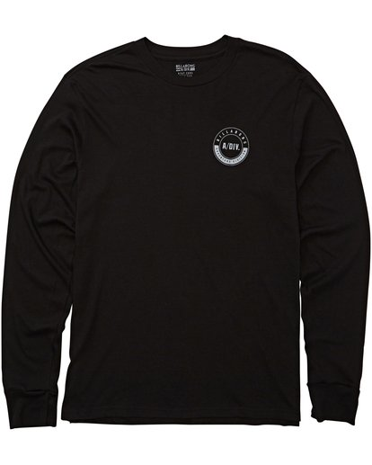 0 Tail Long Sleeve Tee Black M415QBTA Billabong