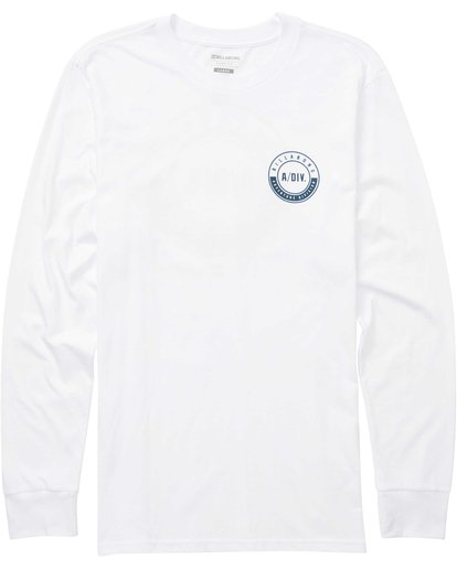 0 Tail Long Sleeve Tee White M415QBTA Billabong