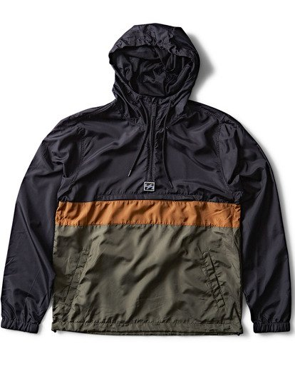 0 Wind Swell Anorak Jacket Camo M701QBWI Billabong
