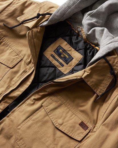 1 Barlow Twill Jacket Pink M706QBBT Billabong