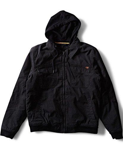 2 Barlow Twill Jacket Black M706QBBT Billabong