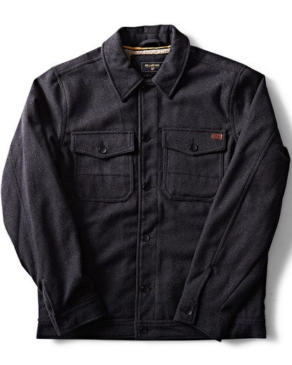 2 Barlow Wool Jacket Black M708QBWO Billabong