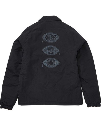 1 Bone Thrower Ocular Jacket Black M708TBBO Billabong