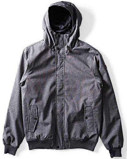 2 All Day 10K Jacket Black M722QBAL Billabong