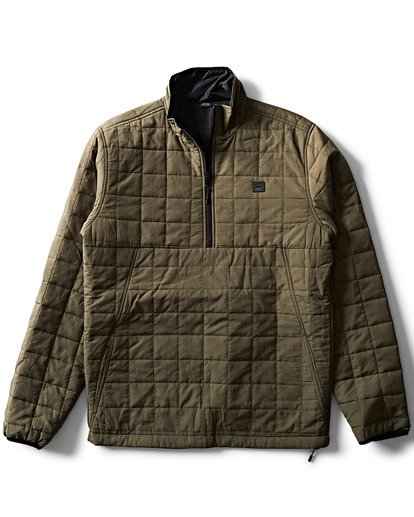 2 Boundary Reversible Puffer Jacket  M727SBBO Billabong