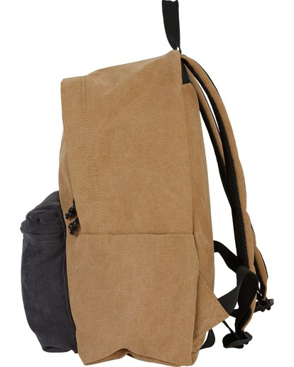 1 All Day Canvas Washed Canvas Backpack Brown MABKSBAD Billabong