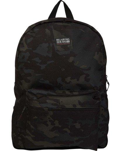 0 All Day Multicam Backpack Black MABKTBAA Billabong